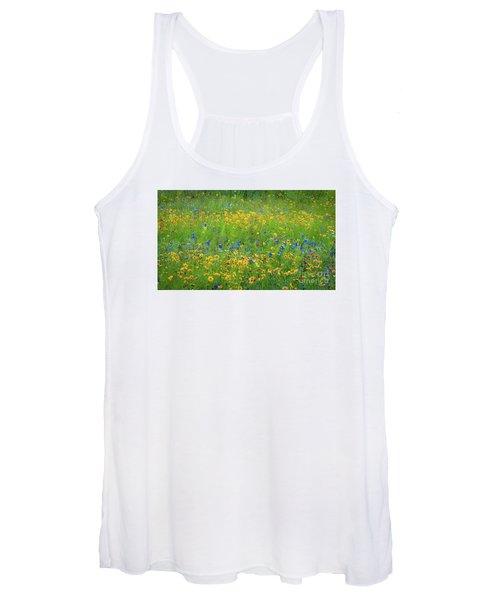 Mixed Wildflowers In Texas 538 Women's Tank Top
