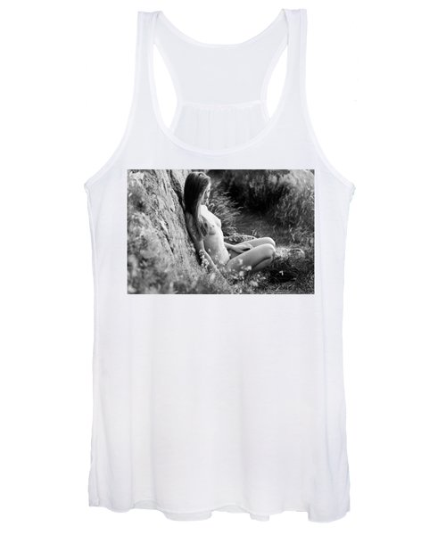 Nude Girl In The Nature Women's Tank Top
