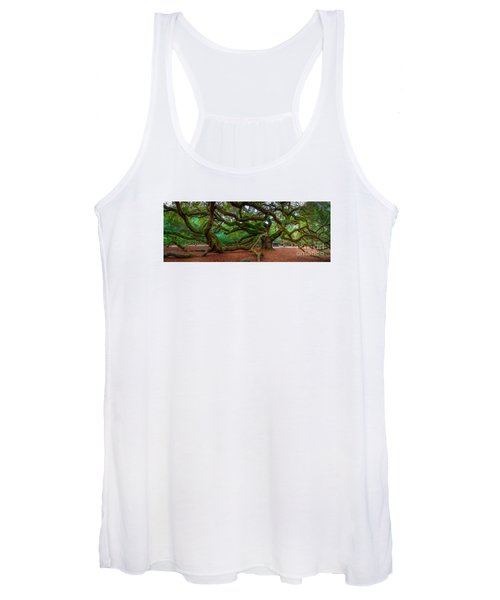 Old Southern Live Oak Women's Tank Top