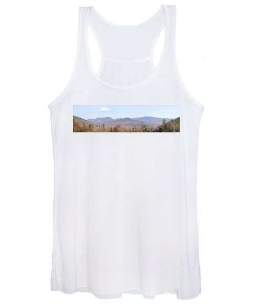 Panoramic View Of Crawford Notch State Women's Tank Top