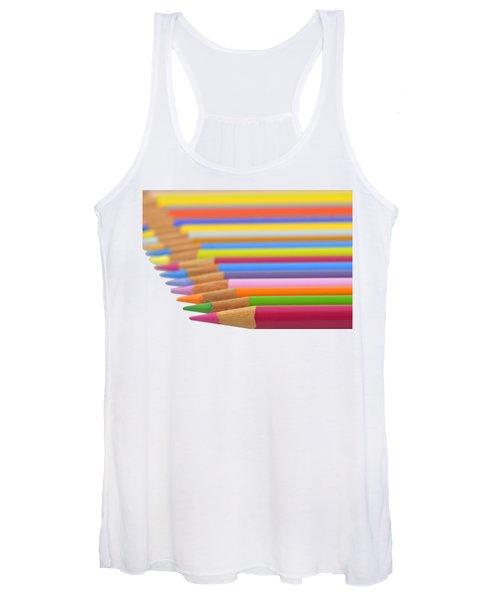 Pencils Women's Tank Top