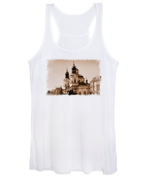 Old Memories Of Prague Women's Tank Top