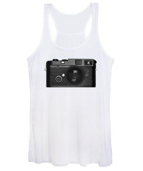Rangefinder Camera Women's Tank Top