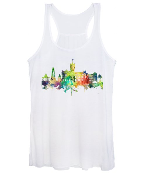 Rutherglen Scotland Skyline Women's Tank Top