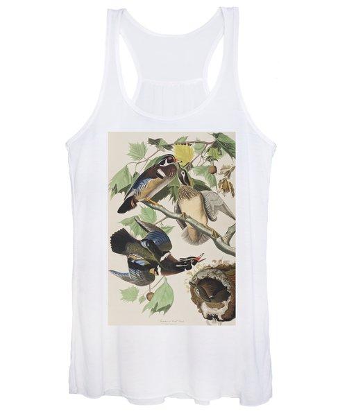 Summer Or Wood Duck Women's Tank Top