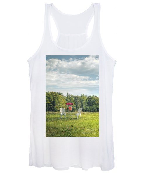 Table For Two Women's Tank Top