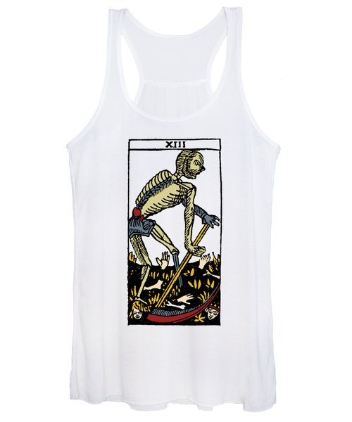 Tarot Card Death Women's Tank Top