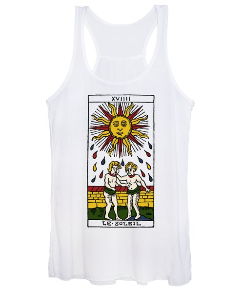 Tarot Card The Sun Women's Tank Top