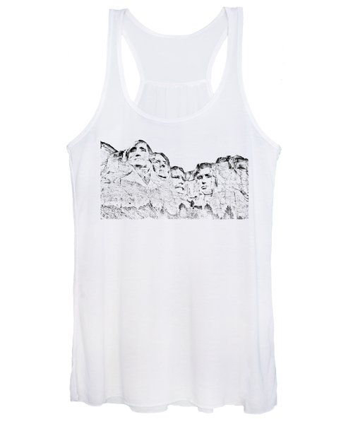 The Four Presidents Women's Tank Top