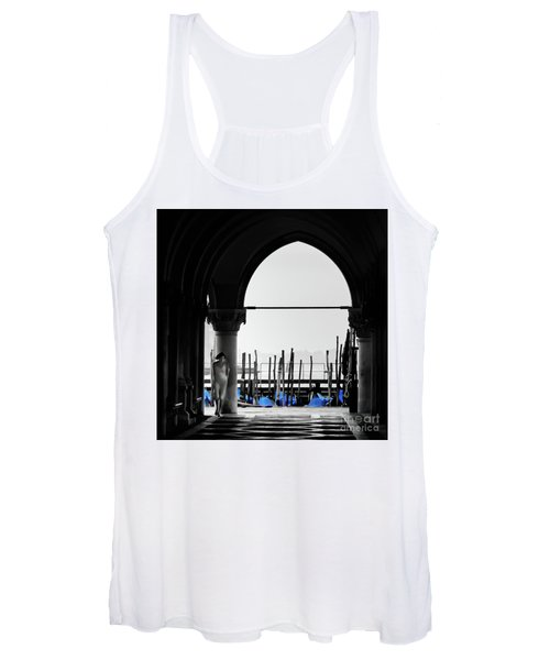 Woman At Doges Palace Women's Tank Top
