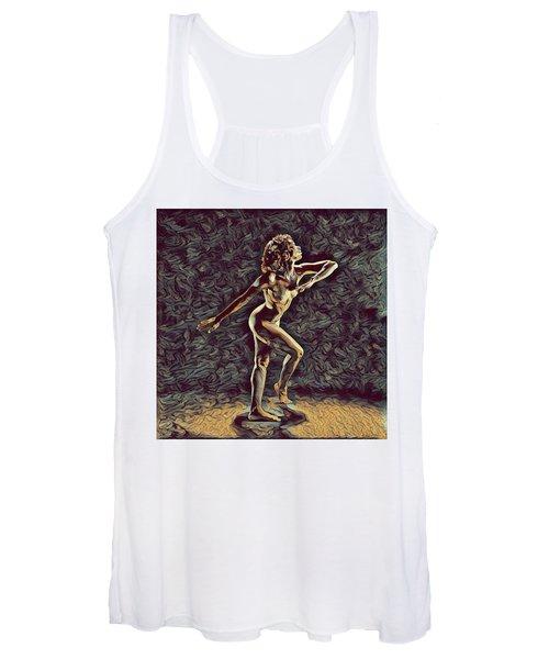 1192s-zac Nudes In The Style Of Antonio Bravo  Women's Tank Top