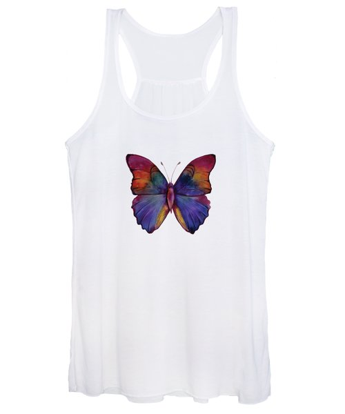 13 Narcissus Butterfly Women's Tank Top