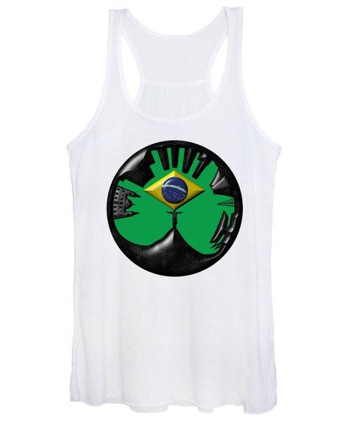 Rio De Janeiro Skyline Women's Tank Top