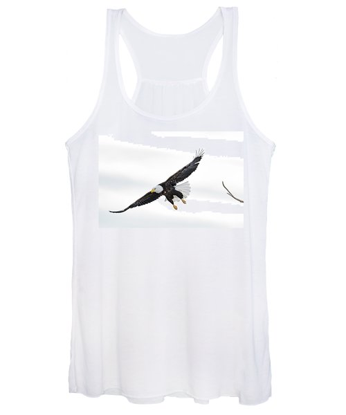 Bald Eagle Women's Tank Top