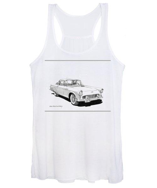 1956 Thunderbird Women's Tank Top