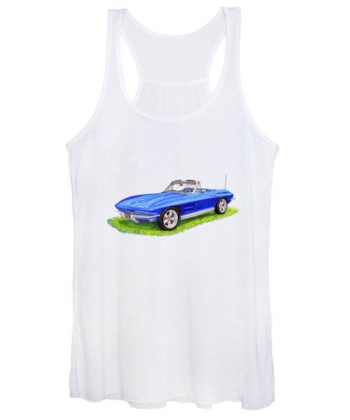 Corvette Stingray Women's Tank Top