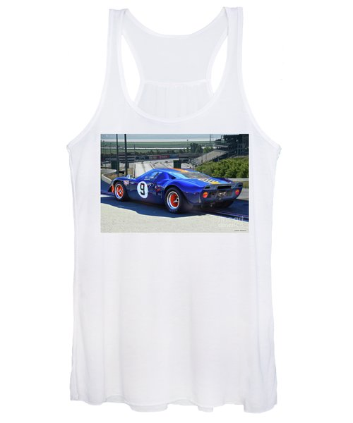 1966 Ford Gt40 'sports Racing' Women's Tank Top