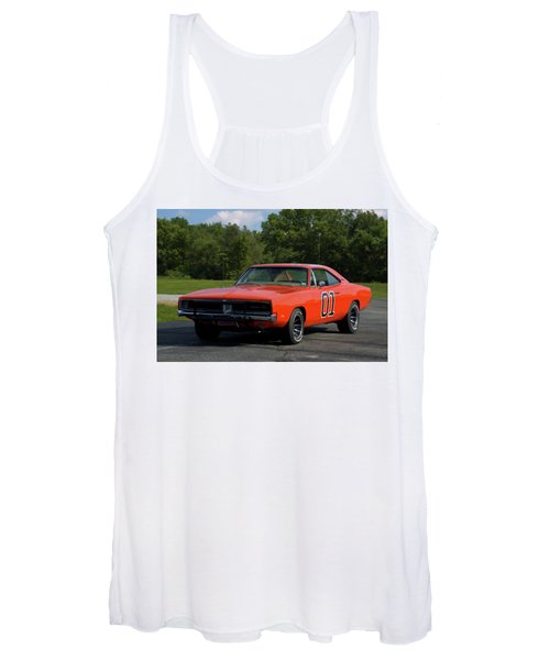 1969 Dodge Charger Rt Women's Tank Top