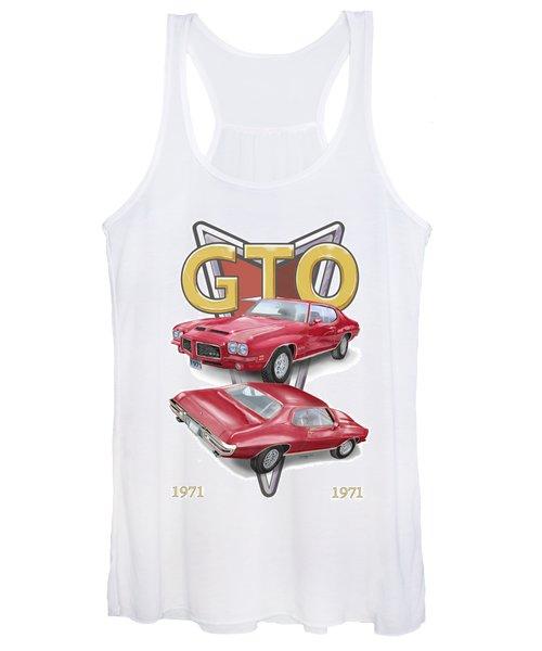 1971 Pontiac Gto Women's Tank Top