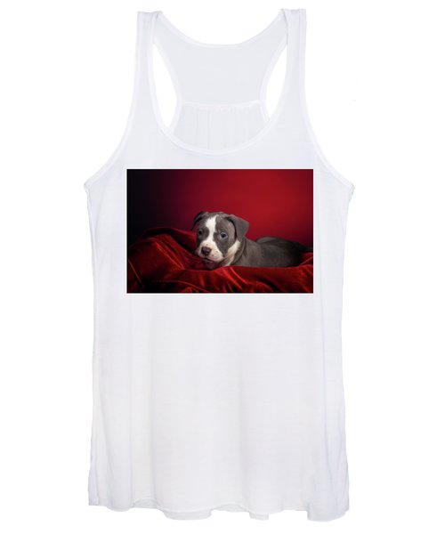 American Pitbull Puppy Women's Tank Top