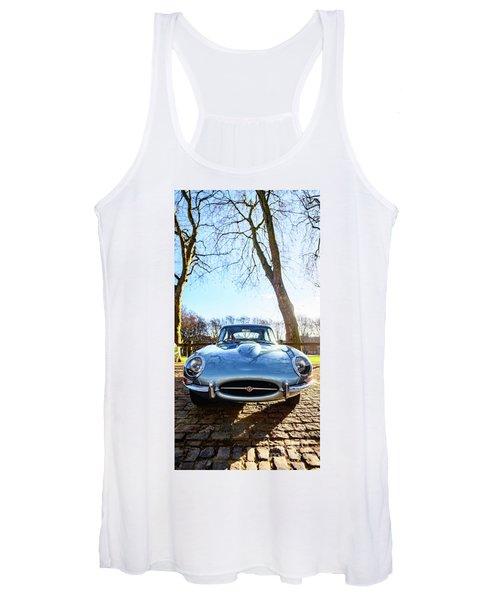 E Type Jaguar Women's Tank Top