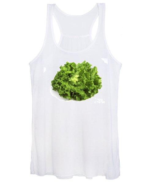 Escarole Leaves Cichorium Endivia Women's Tank Top
