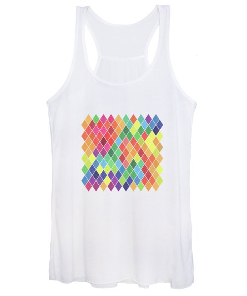 Geometric Background Women's Tank Top