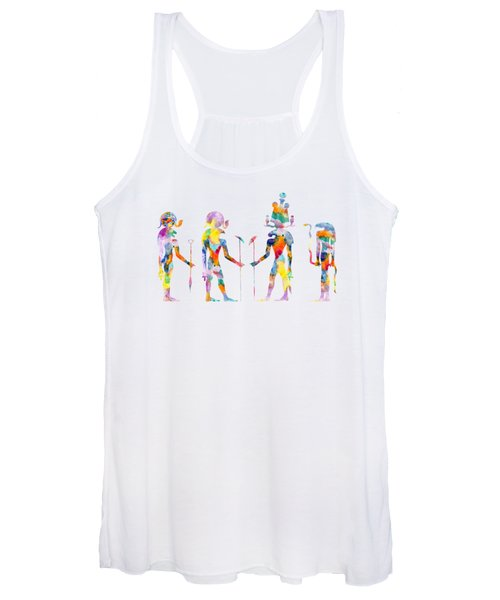 Gods And Goddess Of Ancient Egypt Women's Tank Top