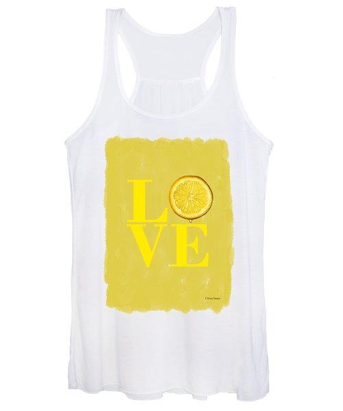 Lemon Women's Tank Top