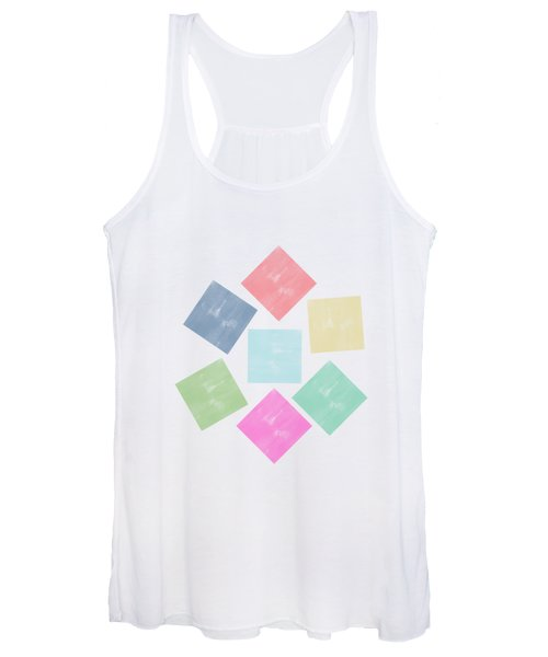 Lovely Geometric Background Women's Tank Top