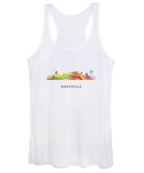 Nashville Tennessee Skyline Women's Tank Top