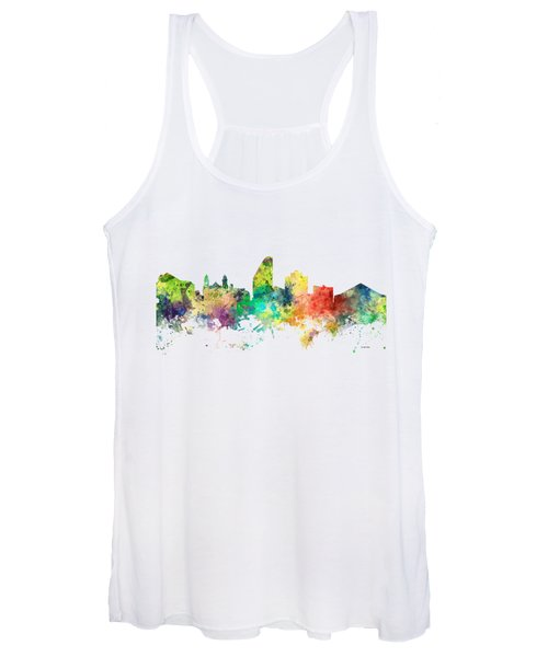 San Jose California Skyline Women's Tank Top