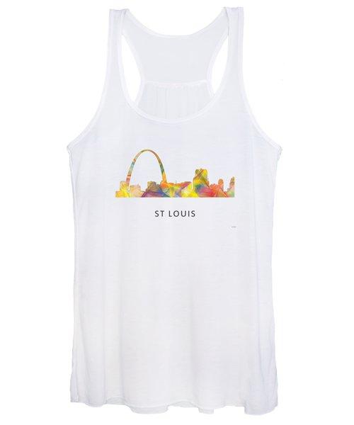St Louis Missouri Skyline Women's Tank Top