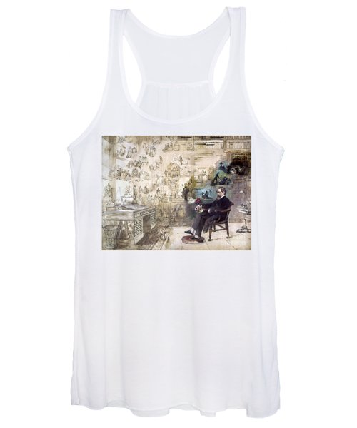 Charles Dickens 1812-1870.  To License For Professional Use Visit Granger.com Women's Tank Top