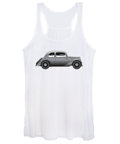 Coupe - Vintage Model Of Car Women's Tank Top