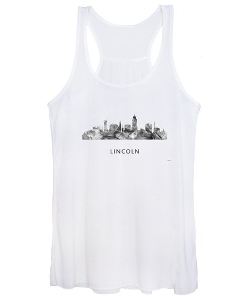 Lincoln Nebraska Skyline Women's Tank Top