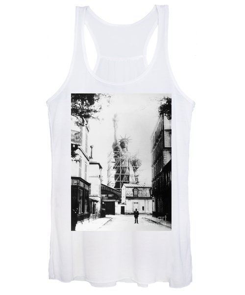 Statue Of Liberty, Paris Women's Tank Top