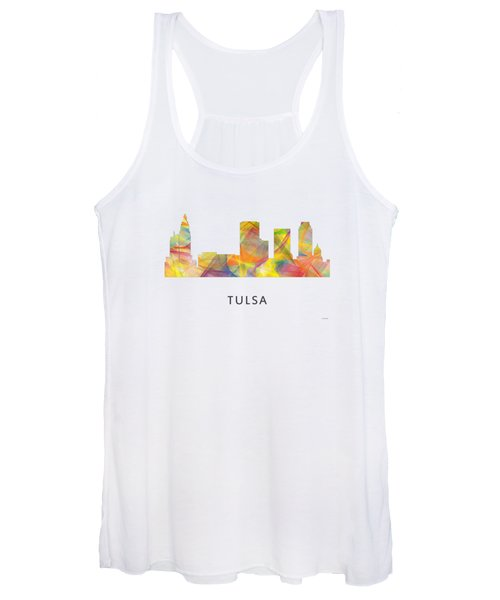 Tulsa Oklahoma Skyline Women's Tank Top