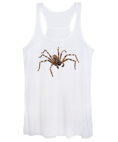 Wolf Spider Lycosa Sp Women's Tank Top