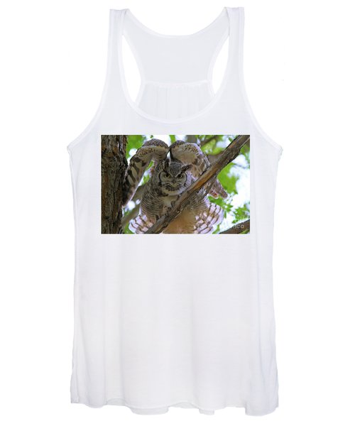 Great Horned Owl Women's Tank Top