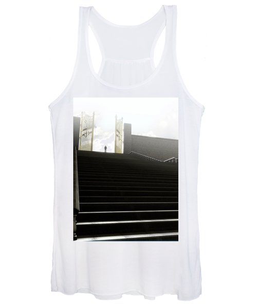 Heavens Gates And Silhouette Women's Tank Top