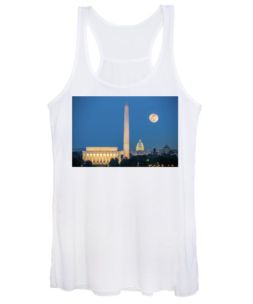 4 Monuments Women's Tank Top