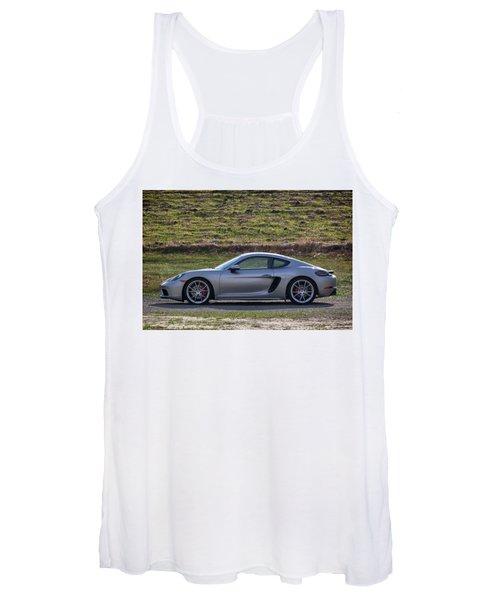 #porsche #718cayman S #print Women's Tank Top