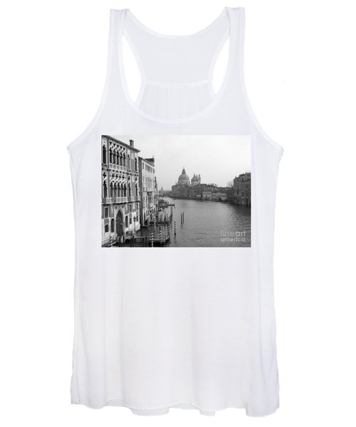 The Grand Canal In Venice Women's Tank Top