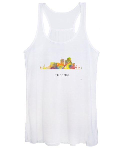 Tucson Arizona Skyline Women's Tank Top