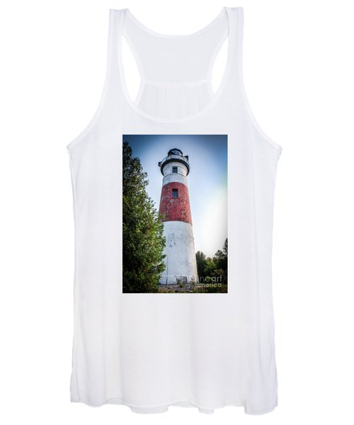 Middle Island Lighthouse Women's Tank Top