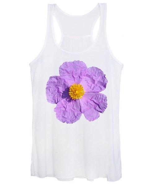 Rockrose Flower Women's Tank Top