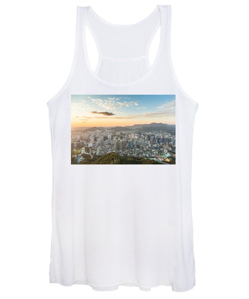 Sunset Over Seoul Women's Tank Top