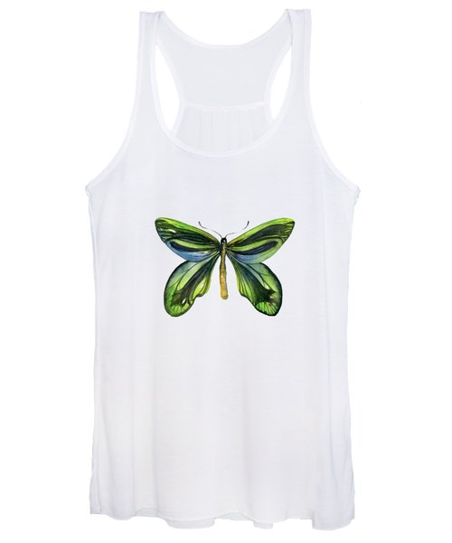 6 Queen Alexandra Butterfly Women's Tank Top