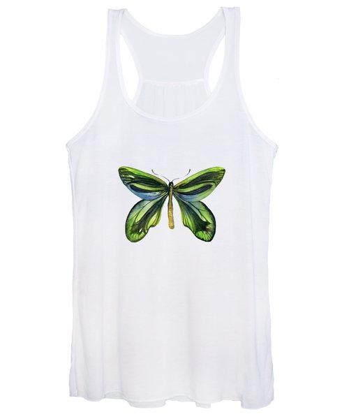 6 Queen Alexandra Butterfly Women's Tank Top